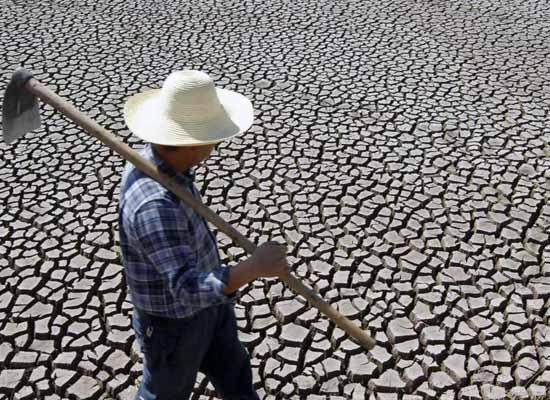 засуха и дефицит пресной воды в Китае