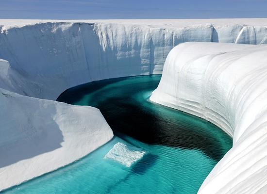 пресная вода в Гренландии