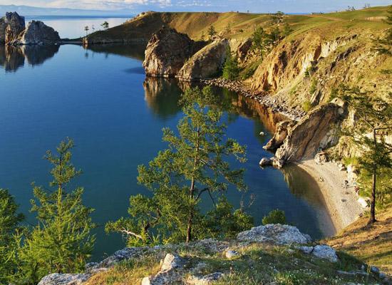 пресное озеро Байкал
