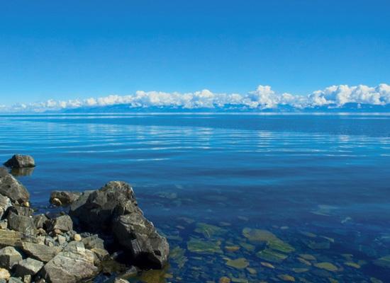 самое большое пресное озеро Байкал