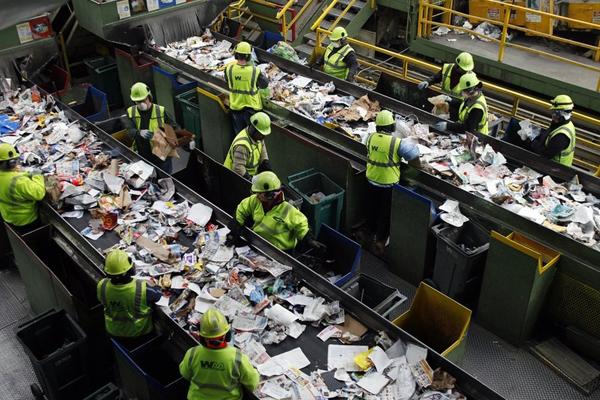 переработка отходов мусора