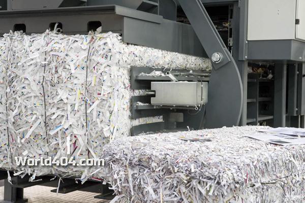 вторичная переработка бумаги