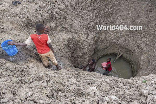 дефицит пресной воды в Африке