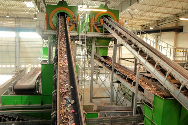 завод по переработке отходов - Waste recycling plant