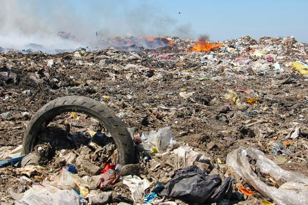 сжигание мусора - Burning of garbage