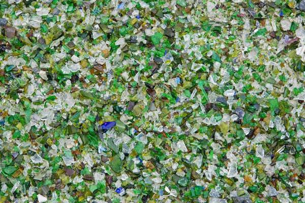Вторичная переработка отходов стекла (Secondary glass processing)